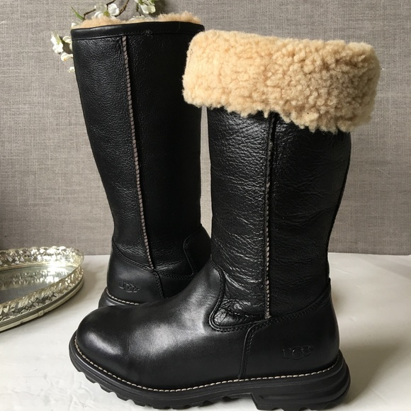 6a4f009fa72 New UGG Brooks Tall Women's Boots- Black